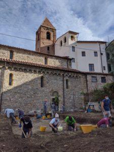 scavo chiesa san sisto